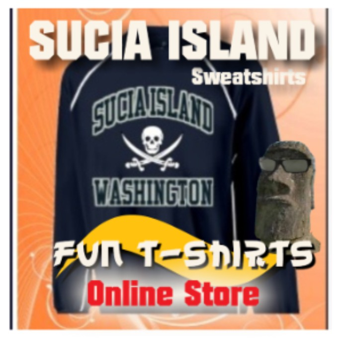 Sucia Island Pirate Sweatshirt
