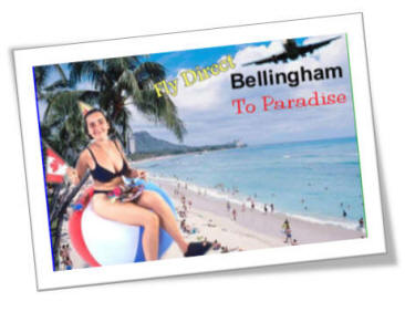 Bellingham Washington International Airport Offers Direct Service Flights To Hawaii