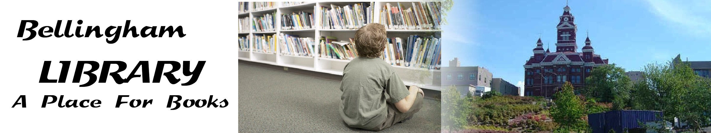 Bellingham Library - A place for learning with lots of books