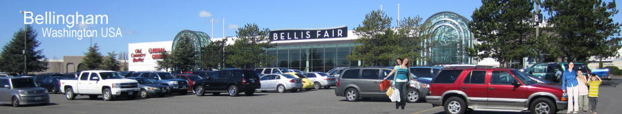 Bellingham Washington Bellis Fair Mall Shopping Center