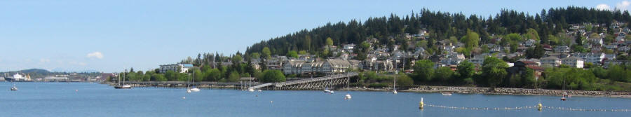 Bellingham's Waterfront Offers Sweeping Views Of Bellingham Bay And The San Juan Islands
