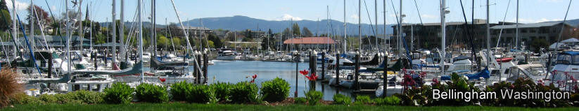 Bellingham's Squalicum Harbor Is Bellingham's Marina And Home To Yacht Charters And Whale Watching Excursions