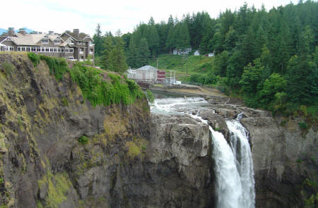 PHoto  Snoqualmie falls is one of the most popular Washington State scenic attractions