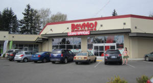 BevMo now has a location in Bellingham on Guide Meridian across from Walmart / And next door to the new Big 5 Sports Store