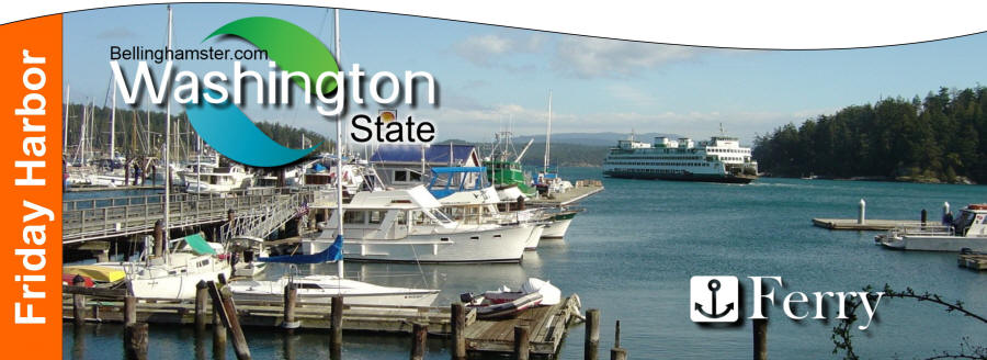 The Washington State Ferry System Offers Regular Service To Friday Harbor