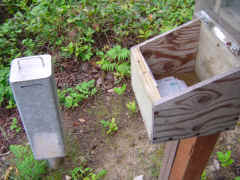 Registration Pay Box - Sucia Island Marine Park Washington