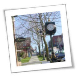 Clock Fairhaven Washington Street Clock