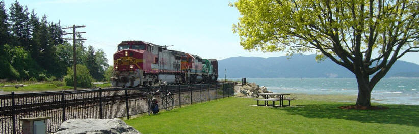Photo Train Fairhaven Washington