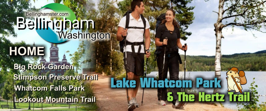 Lake Whatcom Park In Bellingham Washington And The Hertz Trail Attract People To Bellingham From All Over Northwest Washington