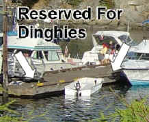 Dinghy Dock In Echo Bay - Sucia Island Marine Park Washington