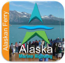 Alaskan Marine Highway Ferry System Button