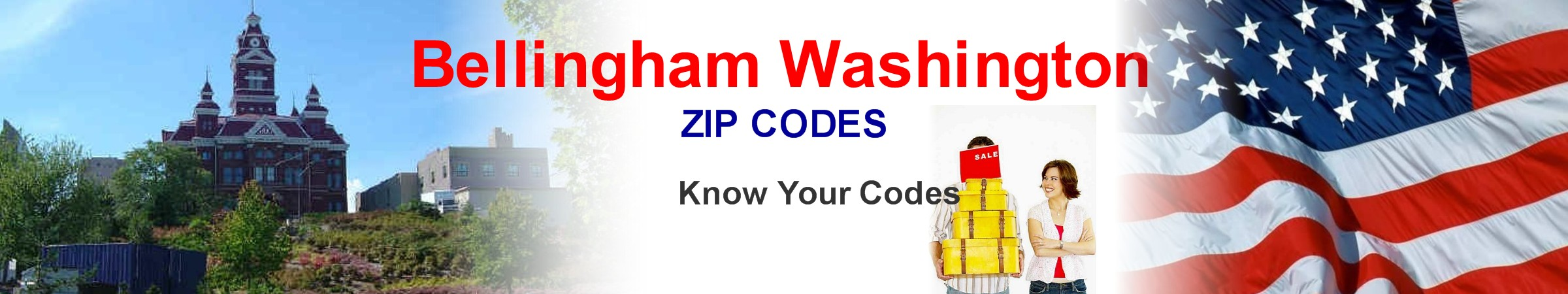 Bellingham Zip Codes - Know Your Codes