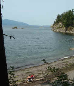 Chuckanut Beach - A stop along the Coast Millennium Trail