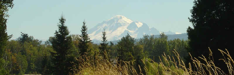 Beautiful Mount Baker Photo - Bellingham Washington Gay and Lesbian Page
