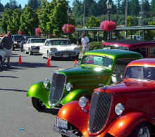 Car Show At Fairhaven Cruise Terminal Bellingham