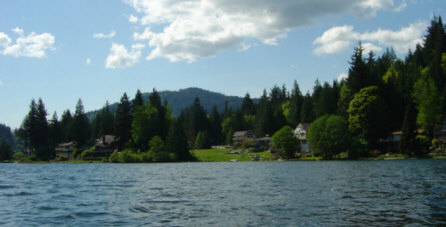 Lake Whatcom Is A Stunning 12 Mile Long Freshwater Lake