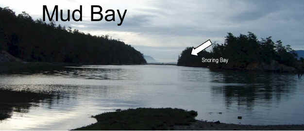 Photo Of Mud Bay At Nightfall - Sucia Island Marine Park Washington