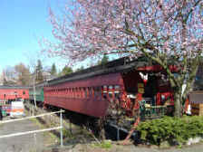 Photo Fairhaven WA Train Car