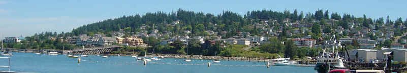 Photo Fairhaven Waterfront Bellingham Washington