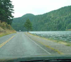 Lakeside Route - Moran State Park Orcas Island Washington